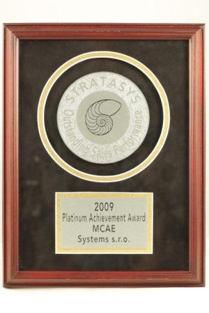 certifikat oceneni mcae systems 2009