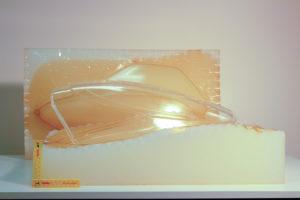 silikonová forma | vakuové lití | brno | mcae | světlomet