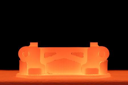 Sintrovací pec 3D tisk