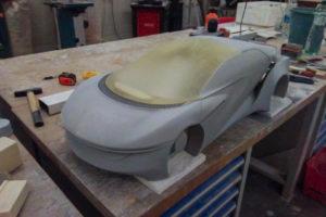 3d tisk auto prototyp studentský projekt