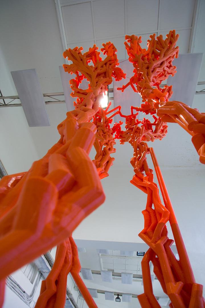 3d tisk sochařství struktury