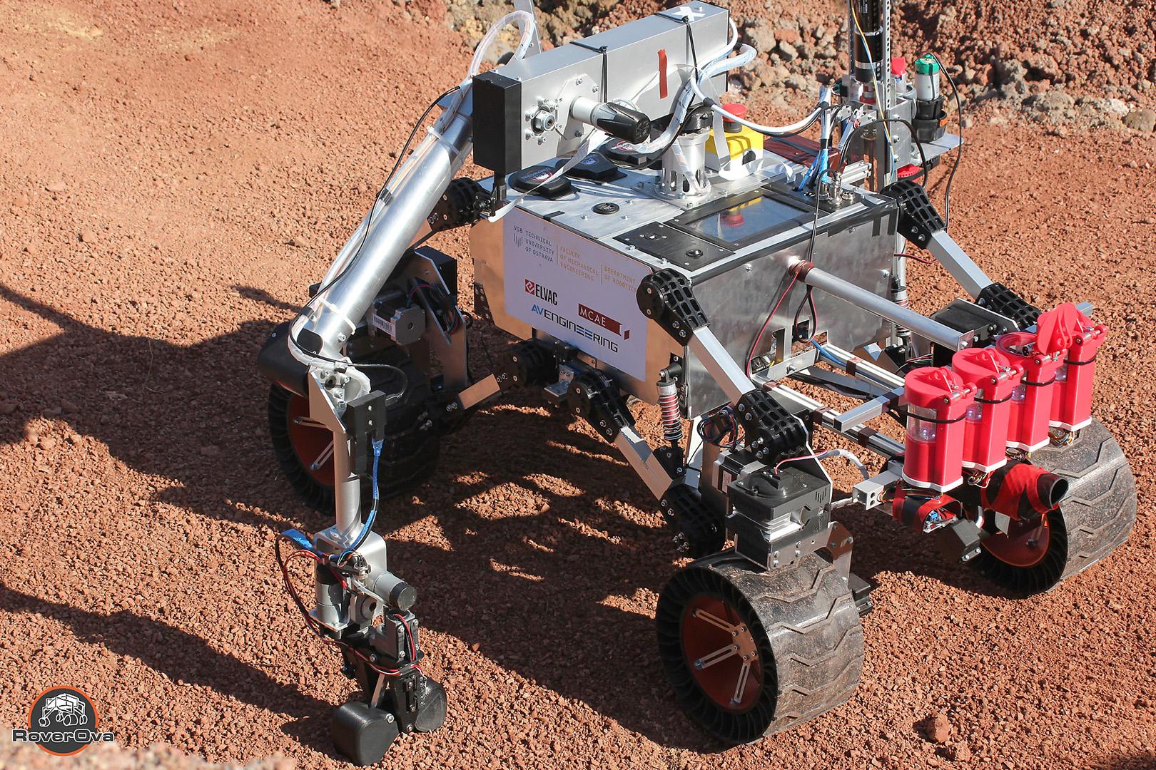 mars rover 3d tisk