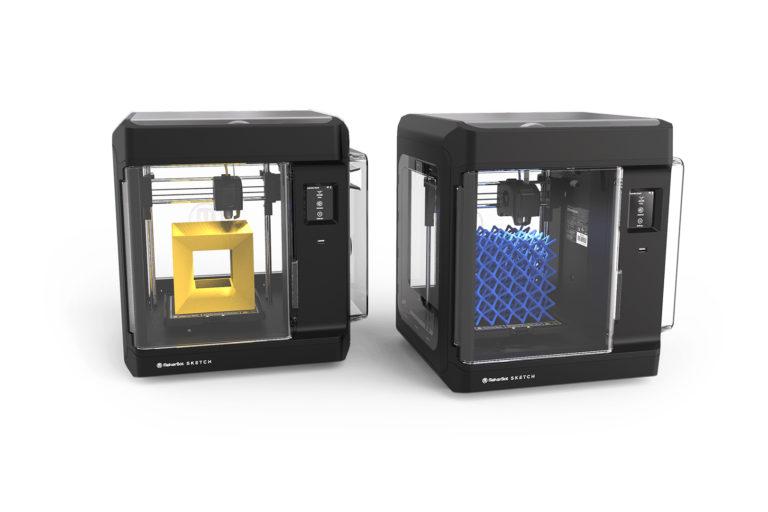 soustava 3D tiskáren makerbot sketch classroom