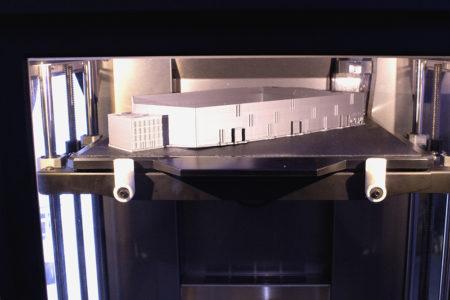 Model v 3D tiskárně