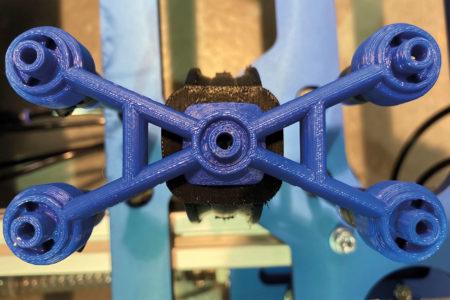 3D tištěné vřeteno