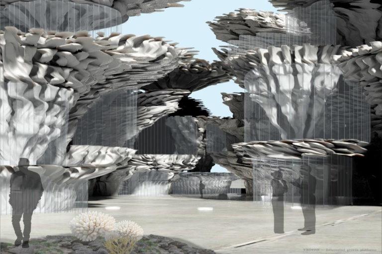 3d tisk makerbot organická architektura
