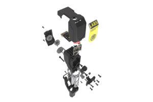 makerbot method extrudér labs rozložené části