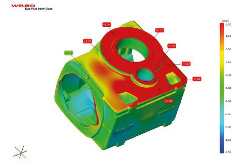3D optické měření ochylek