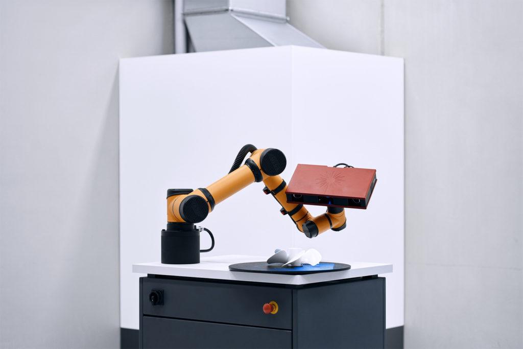 gom scan cobot atos core