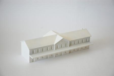 3d tisk architektonicky model
