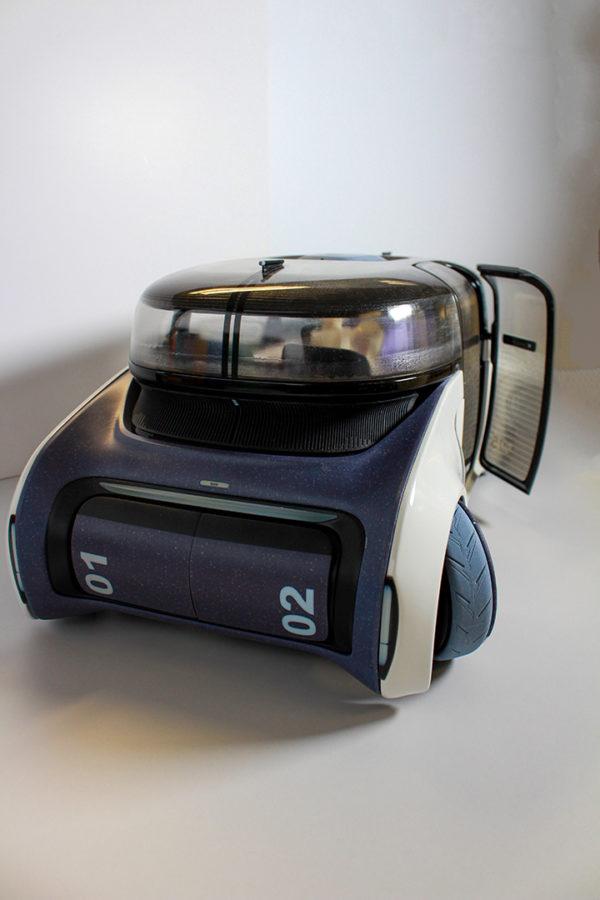 3d tisk prototypu funkcniho auta