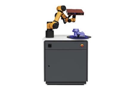 skenovací robot gom