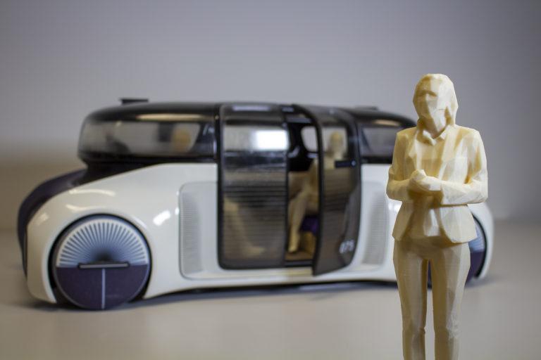 prototyp funkcni auto 3d tisk