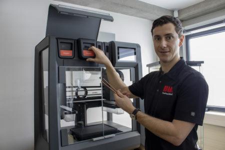 3D tisk z mědi Studio System 2