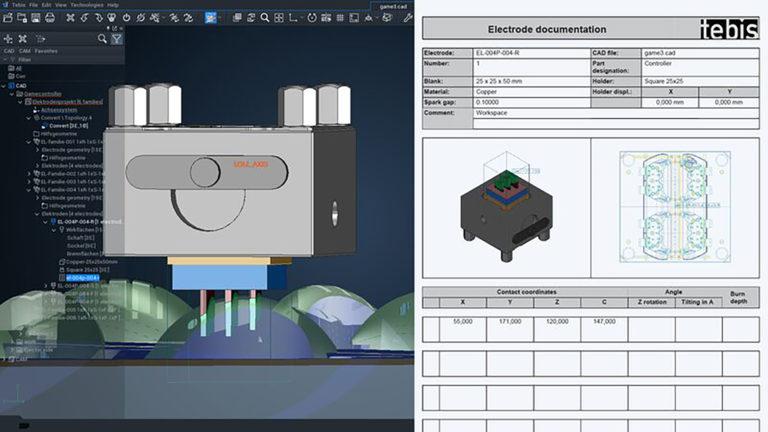 tebis verze 4.1 software cad cam obrábění modelování