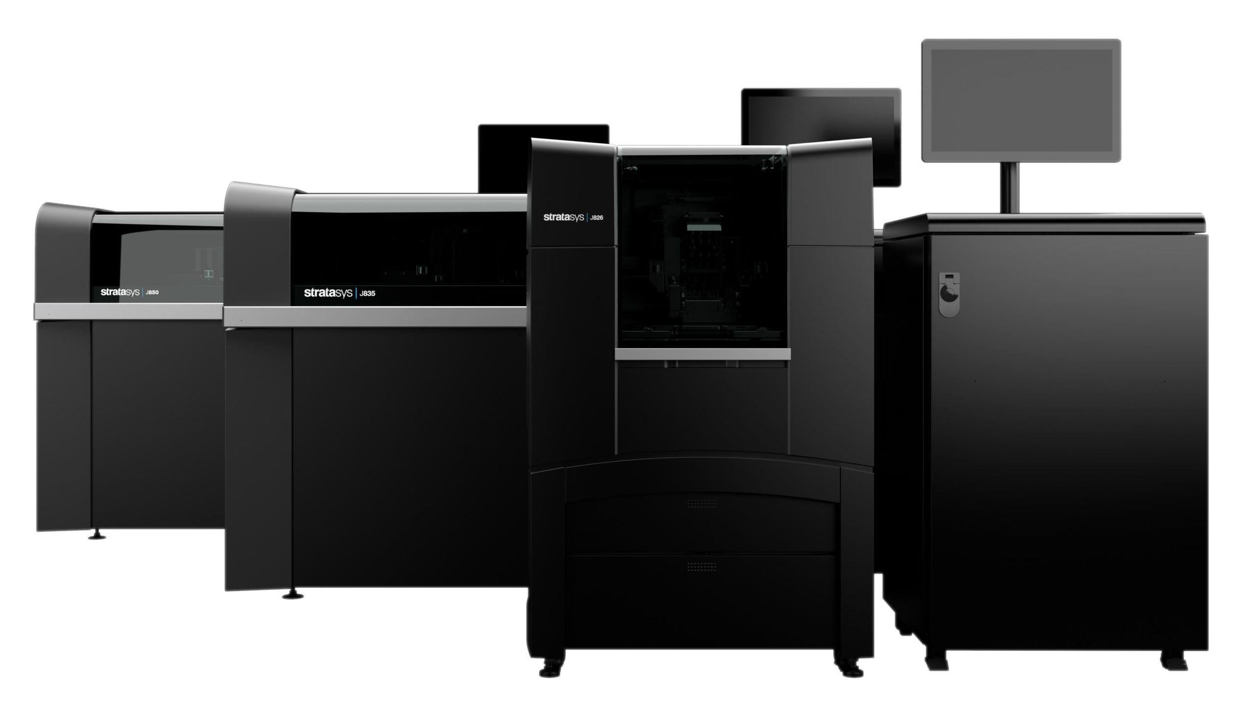 stratasys j8 series 3d tiskarny