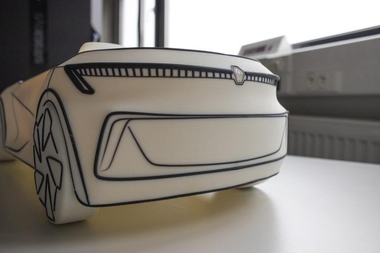 3D tisk auta prototyp diplomova prace