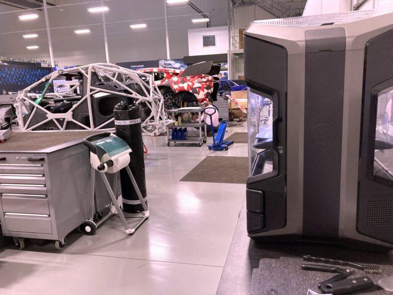Dakar Rally 3D tisk koncových dílů