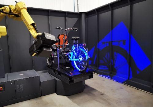skenování rámu kola