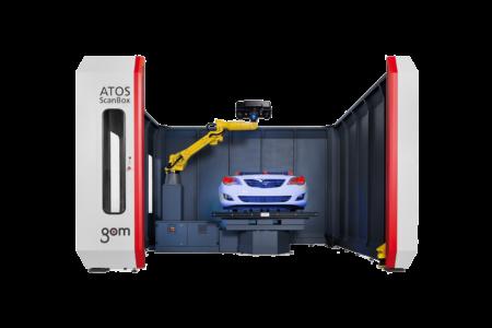 Automatizované měření GOM ATOS ScanBox 6