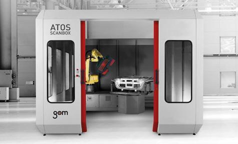 Služby 3D optického měření Tváření plechových výlisků