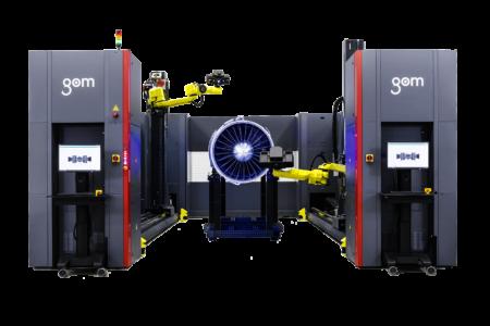 GOM ATOS ScanBox Automatizace měření