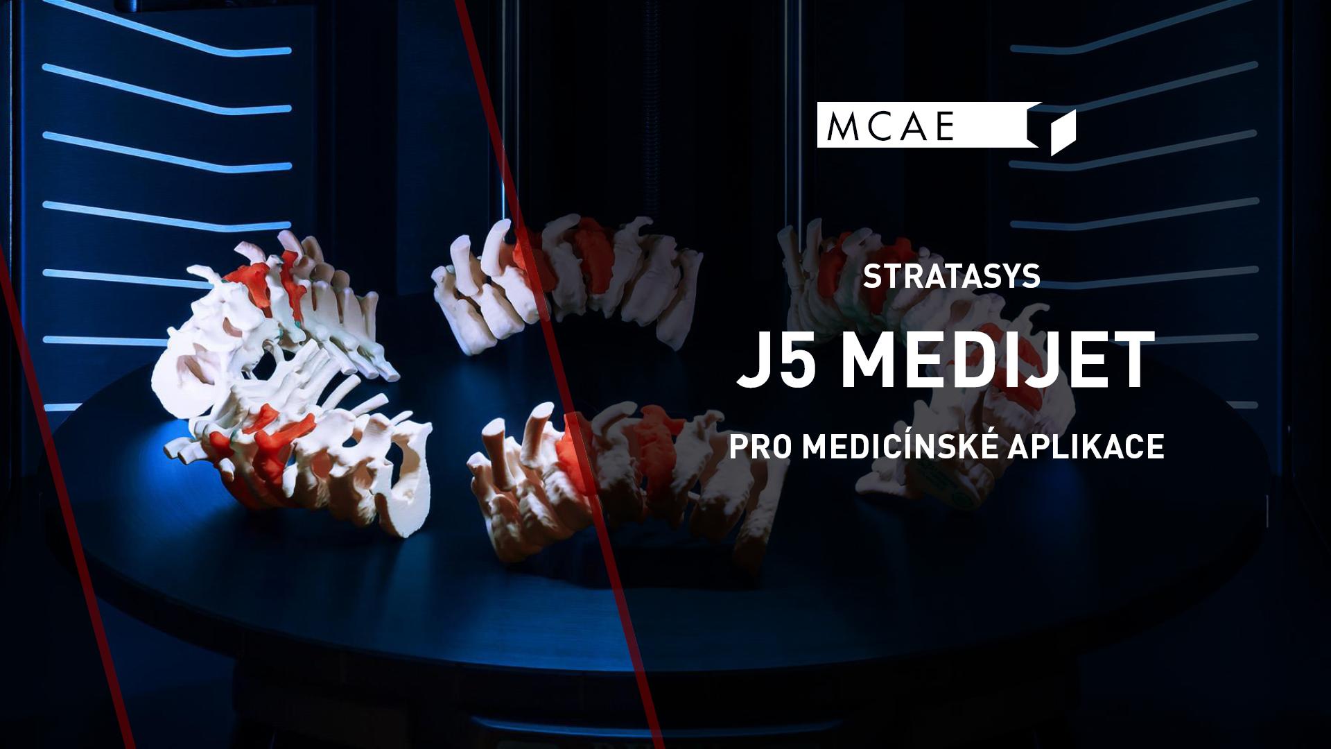 3D tiskárna Stratasys J5 MediJet představení