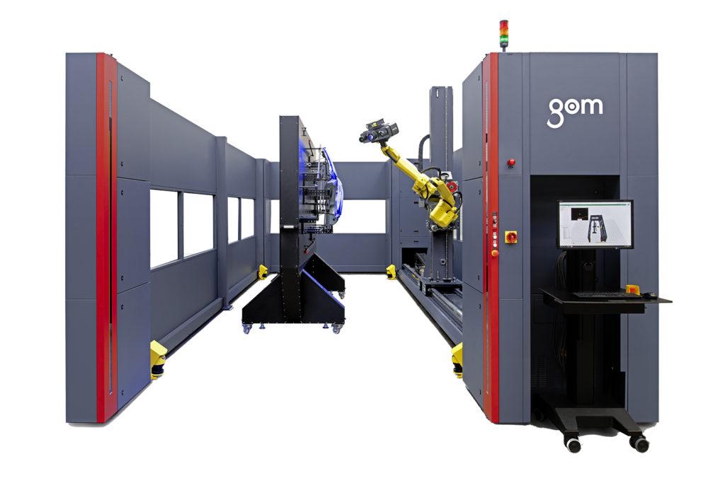 Automatizované měření GOM ATOS ScanBox 7
