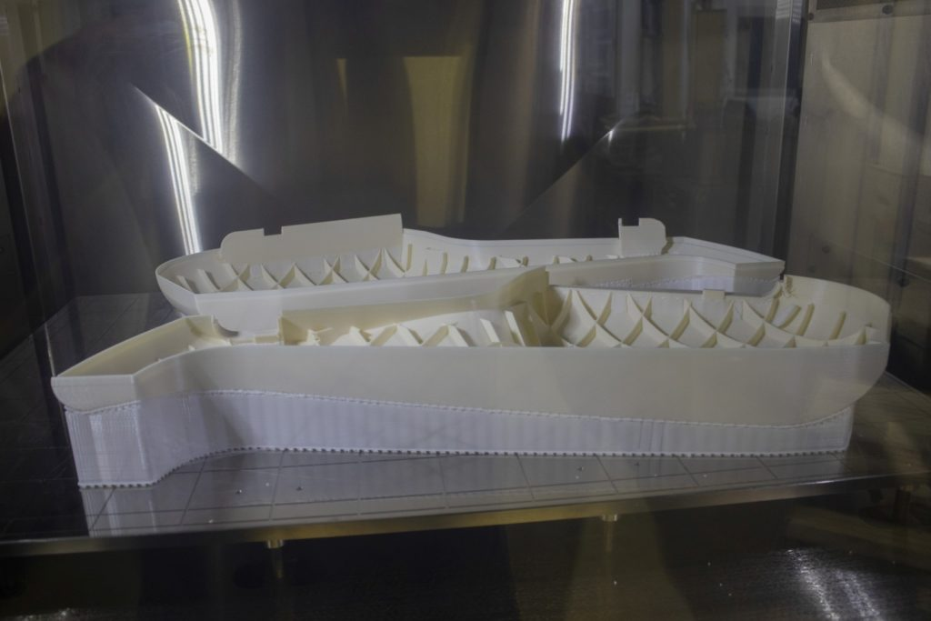 3D tiskárna vytiskla obal na saxofon
