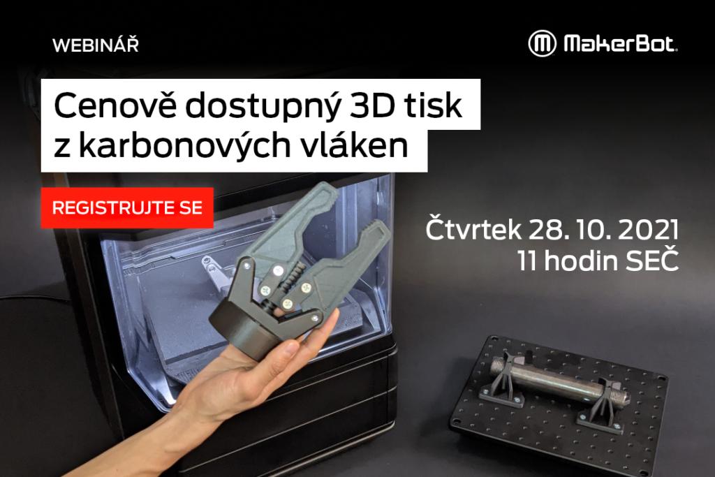 webinar MakerBot 3D tisk