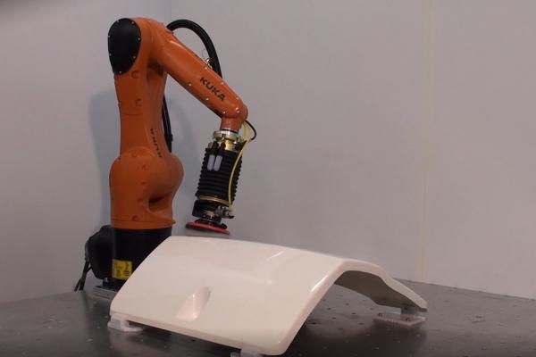 Leštění na robotickém pracovišti